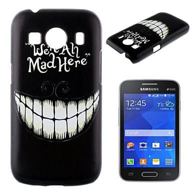Para Samsung Galaxy Capinhas Estampada Capinha Capa Traseira Capinha Preto & Branco PC Samsung Ace Style LTE
