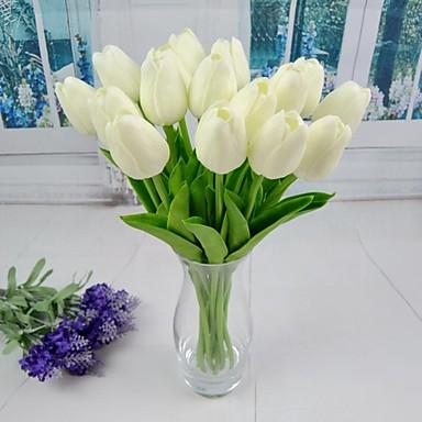 novas tulipa artificial 6 peças de casamento e decoração do partido