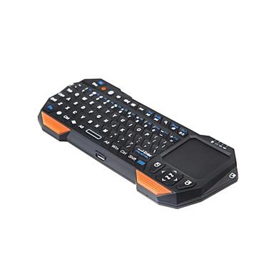 is11-bt05 μίνι πληκτρολόγιο ασύρματο bluetooth 77-κλειδί με ενσωματωμένο touchpad για συσκευές Bluetooth