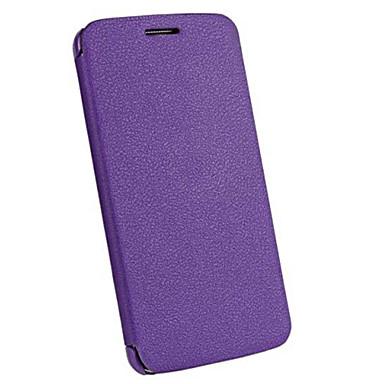 Voor LG hoesje Flip hoesje Volledige behuizing hoesje Effen kleur Hard PU-leer LG LG G3 / LG G10