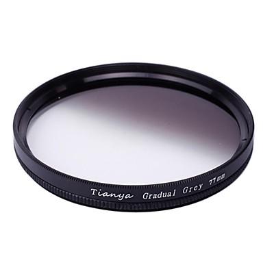 tianya® 77mm circulaire afgestudeerd grijsfilter voor canon 24-105 24-70 17-40 i Nikon 18-300 lens