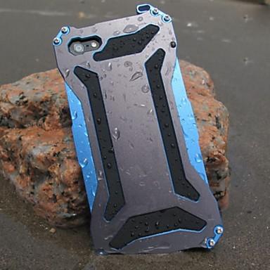 transformador de metal frio impermeável e à prova de poeira e anti raspar de volta caso para iphone 6s 6 mais se 5s 5