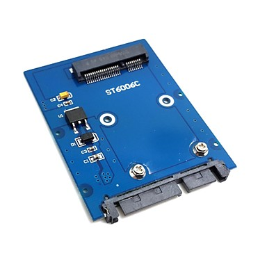 schlanke Typ Mini PCI-E mSATA SSD 2,5