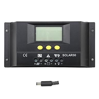 y-ηλιακή 30α LCD ηλιακό ρυθμιστή φορτίου ρυθμιστή φόρτισης της μπαταρίας solar30