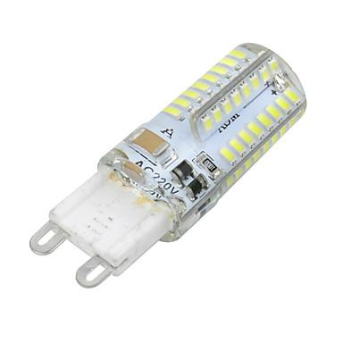 YWXLIGHT® 1pc 3 W 300 lm G9 LED Mısır Işıklar T 64 LED Boncuklar SMD 3014 Kısılabilir Sıcak Beyaz / Serin Beyaz 220-240 V / RoHs