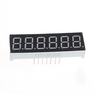 συμβατό (για Arduino) 6-ψήφιο μονάδα οθόνης - 0.36in.
