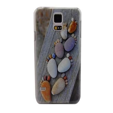 Para Samsung Galaxy Capinhas Case Tampa Estampada Capa Traseira Capinha Desenho Animado PC para Samsung S5