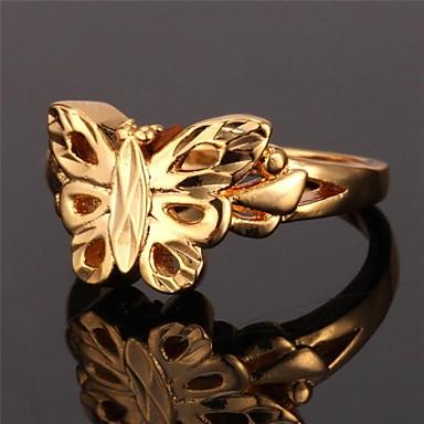 Γυναικεία Band Ring Επιχρυσωμένο Κράμα Γάμου Πάρτι Καθημερινά Causal Αθλητικά Κοστούμια Κοσμήματα