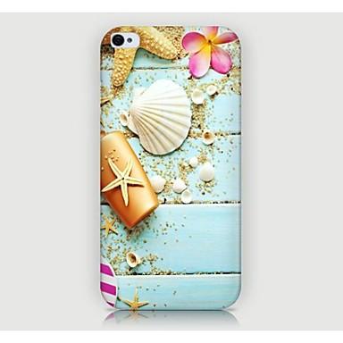 iPhone 4/4S/iPhone 4 - 뒷면 커버 - 그래픽/스페셜 디자인/노블티 (멀티컬러 , 플라스틱)