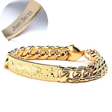 Jóias Personalizadas - Glamorouso - ouro - Braceletes - de cobre