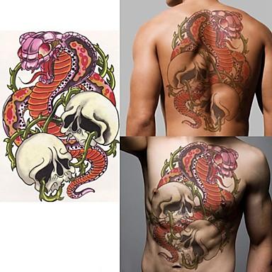 1 Αυτοκόλλητα Τατουάζ Άλλα Non Toxic Χαμηλά στην Πλάτη WaterproofΠαιδικά Γυναικεία Αντρικά Ενήλικες Εφηβικό Flash Tattoo προσωρινή Τατουάζ