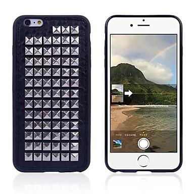 iPhone 6 - Achterkantje - Speciaal ontwerp ( Zwart , TPU/Metaal )