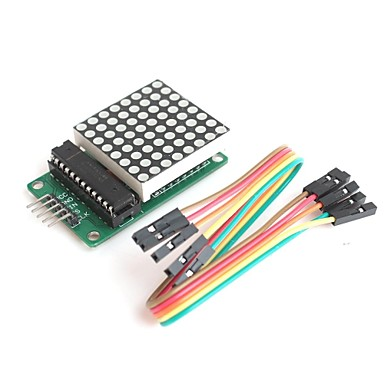 MAX7219 8 * 8 dot matrix serieel interface 8-cijferige led display driver voor arduino