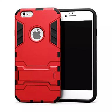 Voor iPhone 6 hoesje / iPhone 6 Plus hoesje Schokbestendig / met standaard hoesje Achterkantje hoesje Pantser Hard MetaaliPhone 6s Plus/6