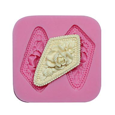κόσμημα σιλικόνης φορμών σιλικόνης μούχλα λουλούδι cupcake διακόσμηση σιλικόνης για φοντάν FIMO πάστα των ούλων&σοκολάτα σαπούνι