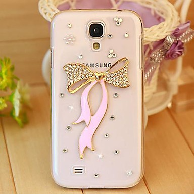 cheap Galaxy S3 Cases / Covers-Case For Samsung Galaxy S7 edge / S7 / S6 edge plus Rhinestone / Transparent Back Cover 3D Cartoon PC