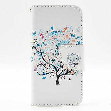 Για Θήκη Motorola Πορτοφόλι / Θήκη καρτών / με βάση στήριξης / Ανοιγόμενη tok Πλήρης κάλυψη tok Δέντρο Σκληρή Συνθετικό δέρμα Motorola