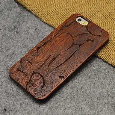 Voor iPhone 6 hoesje / iPhone 6 Plus hoesje Reliëfopdruk hoesje Achterkantje hoesje Houtnerf Hard Hout iPhone 6s Plus/6 Plus / iPhone 6s/6
