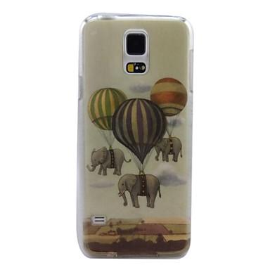 Για Samsung Galaxy Θήκη Θήκες Καλύμματα Με σχέδια Πίσω Κάλυμμα tok Ελέφαντας PC για Samsung S5