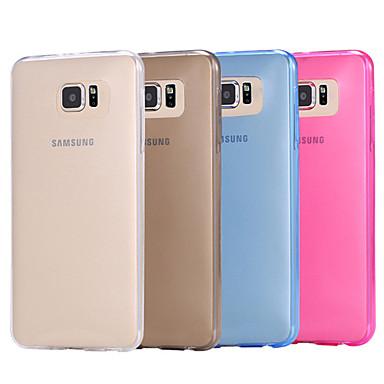 hoesje Voor Samsung Galaxy Samsung Galaxy hoesje Transparant Achterkant Effen Kleur TPU voor S6