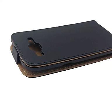 Pouzdro Uyumluluk Samsung Galaxy Samsung Galaxy Kılıf Flip Manyetik Tam Kaplama Kılıf Tek Renk PU Deri için J7 (2016) J7 J5 (2016) J5 J3