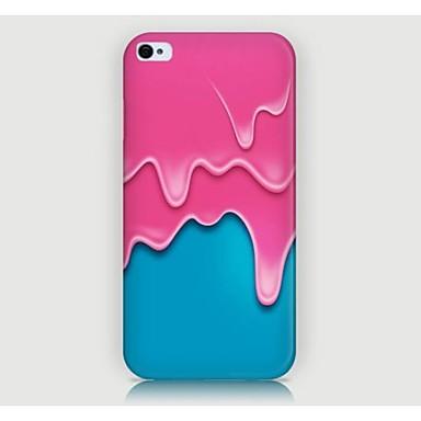 Gráficos/Design Especial/Inovadora - iPhone 4/4S/iPhone 4 - Capa traseira (Multi-Côr , Plástico)