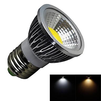 1pç 3 W 280 lm E26 / E27 Lâmpadas de Foco de LED 1 Contas LED COB Regulável Branco Quente / Branco Frio 100-240 V