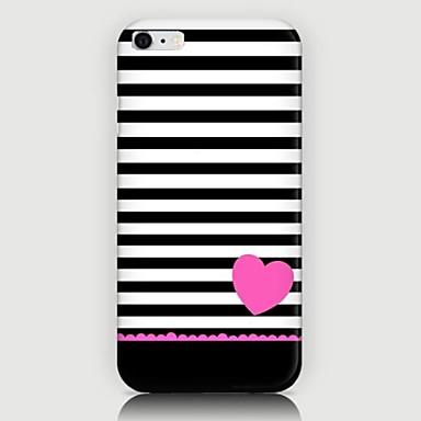 Για Θήκη iPhone 6 / Θήκη iPhone 6 Plus Με σχέδια tok Πίσω Κάλυμμα tok Γραμμές / Κύματα Σκληρή PC iPhone 6s Plus/6 Plus / iPhone 6s/6