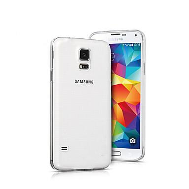 transparante siliconen rug dekking voor Samsung S5 i9600
