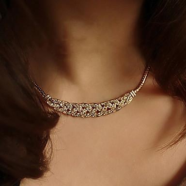 levne Módní náhrdelníky-Dámské Obojkové náhrdelníky Vintage náhrdelník tetování obojek dámy Tetování Módní Postříbřené Pozlacené Stříbrná Zlatá Náhrdelníky Šperky 1ks Pro Svatební Párty Denní Ležérní