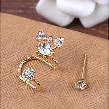 Σκουλαρίκι Χειροπέδες Ear Κοσμήματα 1pc Πάρτι / Αθλητικά Κράμα / Στρας Γυναικεία