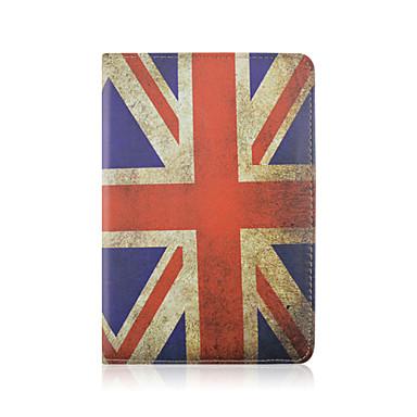 7.9 polegadas caso padrão de bandeira rotação de couro pu com suporte de 360 graus e uma caneta para iPad mini 1/2/3