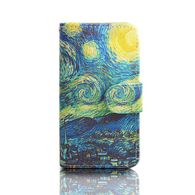 Кейс для Назначение SSamsung Galaxy Кейс для  Samsung Galaxy Бумажник для карт Кошелек со стендом Флип Чехол Мультипликация Кожа PU для