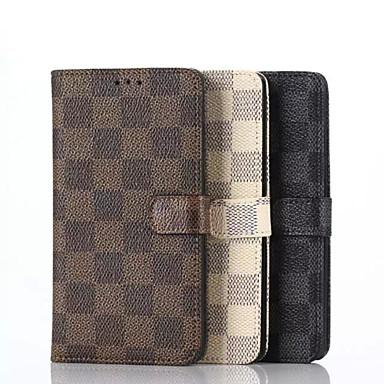 Estojo de couro de luxo pu carteira de 5,5 polegadas com suporte para lg g4 (cores sortidas)