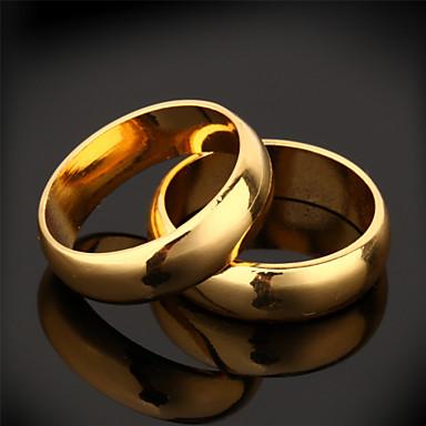 Ringen Dagelijks / Causaal / Sport Sieraden Verguld Dames Midiringen 2 stuks,6 Gouden