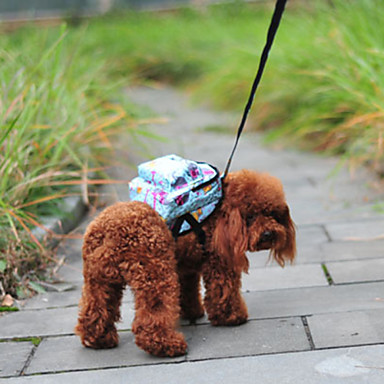 cheap Dog Clothing & Accessories-Cat Dog Commuter Backpack Dog Clothes 3# 4# 5# Nylon Cotton Mixed Material Costume For Spring &  Fall