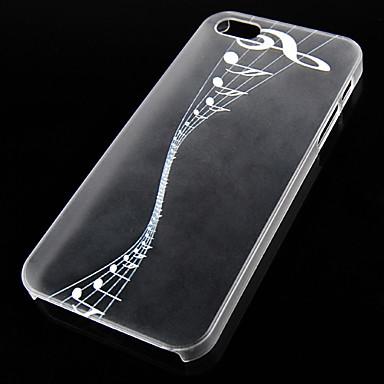 Για Θήκη iPhone 5 Θήκες Καλύμματα Διαφανής Πίσω Κάλυμμα tok Μονόχρωμη Σκληρή PC για iPhone SE/5s iPhone 5