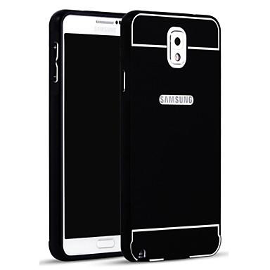 Capinha Para Samsung Galaxy Samsung Galaxy Note Other Capa traseira Côr Sólida Acrílico para Note 3