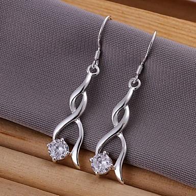 Dames Druppel oorbellen Sterling zilver Sieraden Bruiloft Feest Dagelijks Causaal Kostuum juwelen