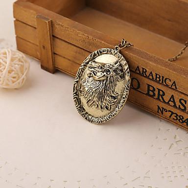 Game of Thrones ketting lied van ijs en vuur Cersei Lannister Paardenrijschool vintage leeuw badge hanger
