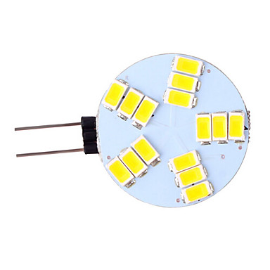 3 W 350 lm G4 LED Bi-pin Işıklar 15 LED Boncuklar SMD 5730 Sıcak Beyaz / Serin Beyaz 12 V / 1 parça / RoHs / CCC