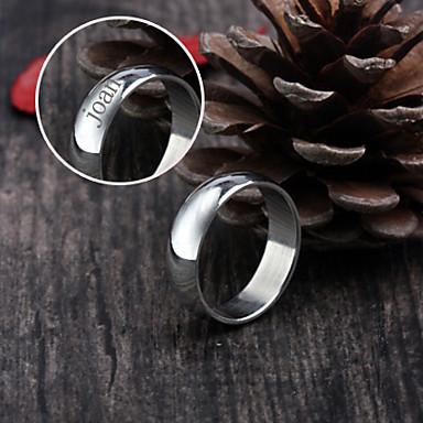 Gepersonaliseerde sieraden RVS - zilver - Ringen -