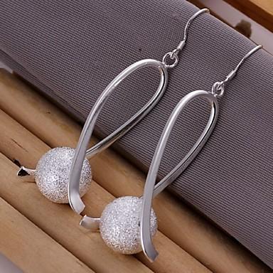 Жен. Серьги-слезки - Стерлинговое серебро Серебряный Назначение Свадьба Для вечеринок Повседневные