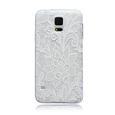 tok Για Samsung Galaxy Samsung Galaxy Θήκη Διαφανής Πίσω Κάλυμμα Λουλούδι TPU για S5