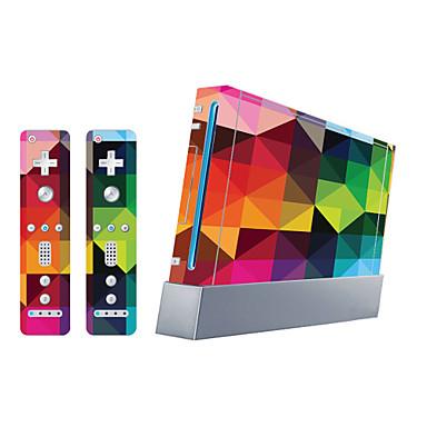 B-SKIN Autocollant Pour Wii U / Wii ,  Nouveautés Autocollant PVC 1 pcs unité
