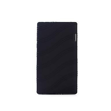 tok Για Πλήρης Θήκη Μονόχρωμο Σκληρή PU δέρμα για Lenovo Tab 2 A7-10