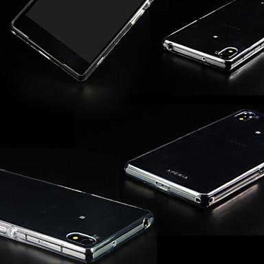 Για Θήκη Sony / Xperia Z3 Διαφανής tok Πίσω Κάλυμμα tok Μονόχρωμη Μαλακή TPU για Sony Sony Xperia Z3