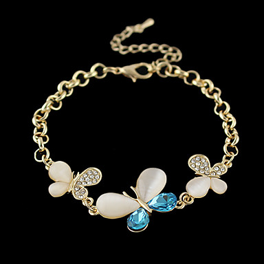 Γυναικεία Βραχιόλια με Αλυσίδα & Κούμπωμα Κράμα Κοσμήματα Πάρτι Καθημερινά Causal