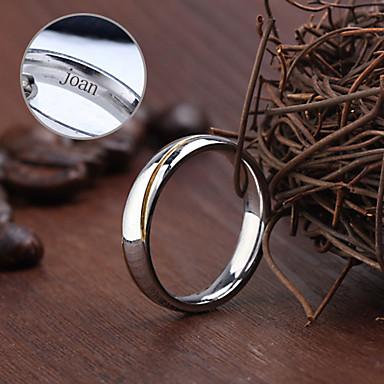 ασήμι - Εξατομικευμένη Κοσμήματα - Δακτυλίδια - από Ανοξείδωτο Ατσάλι