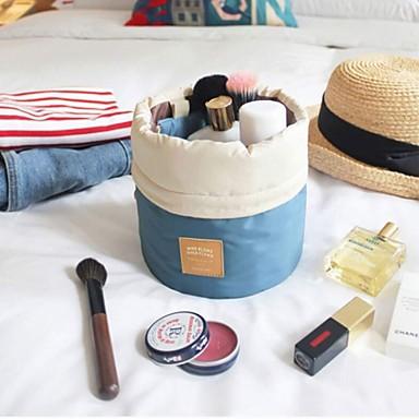 Αποθήκευση προϊόντων μακιγιάζ Τσάντα καλλυντικών 23*17*17 Καφέ / Ασημί